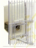 Futter dispenser special for front cage grid, content 250 gr and 8 x 7 x 16 cm