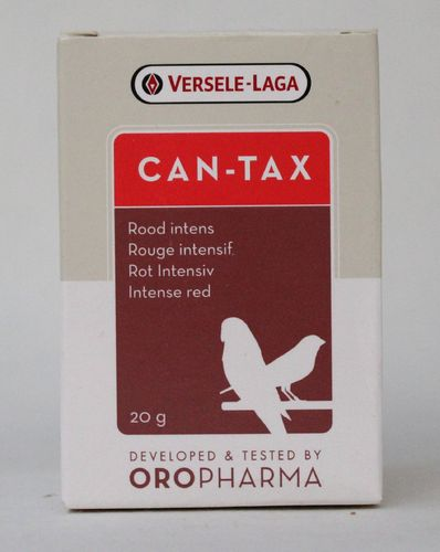 Orlux CANTAX intensive red   20gr
