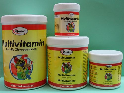 Quiko multivitamin 150 gr ( for all domestic birds )