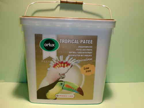 Orlux Tropical Patee premium with fruits 5kg