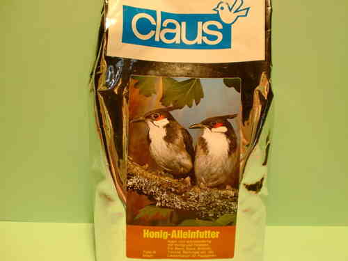 Claus honey sole feeder typ 3 brown 500g.