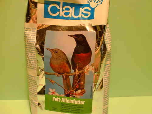 Claus Fat sole feeder typ 2 green 500g