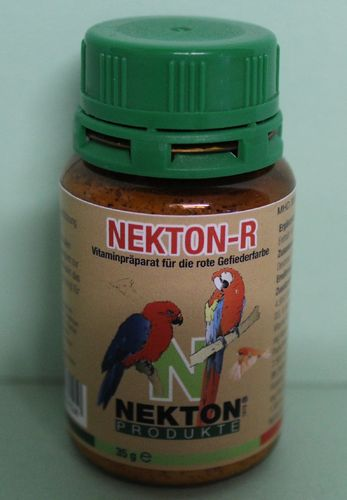 Nekton R for red colouring of the feather 35gr