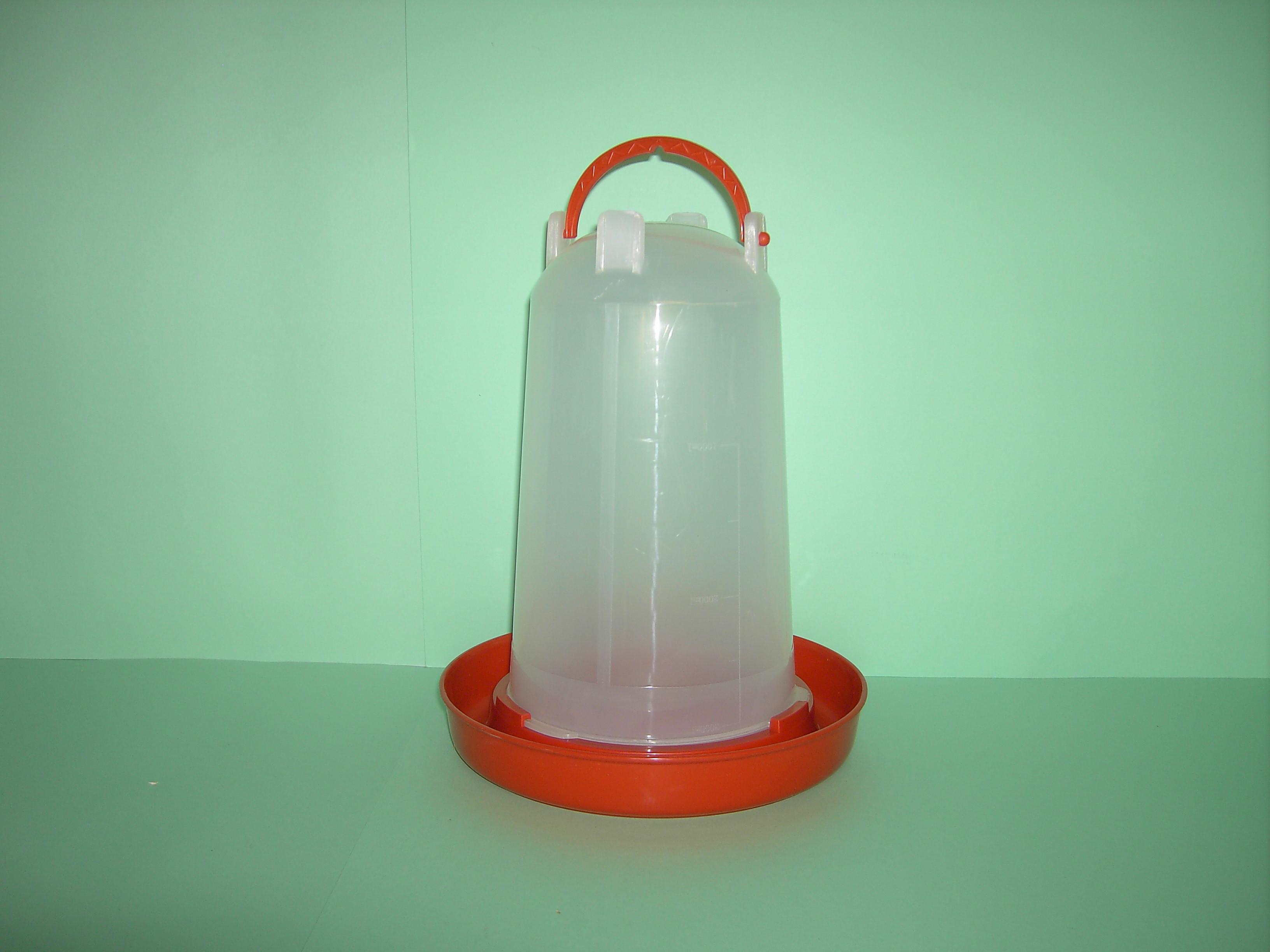 Geflügeltränke mit Bajonetverschluß 3 liter - ZOOVERSANDHAUS JUNG