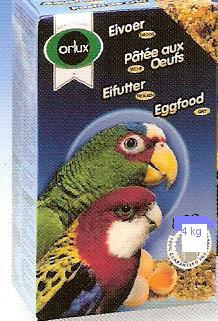 Orlux egg feed dry for parrots  4kg