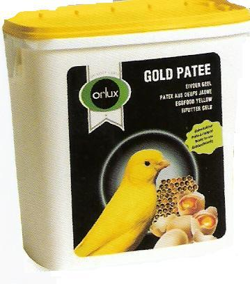 Orlux patee yellow egg feed for canaries 5 Kg