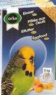 Orlux egg feed for Budgies, Parakeets  5 Kg